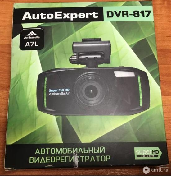 Как новый, SuperHD видеорегистратор AutoExpert DVR-817. Фото 1.
