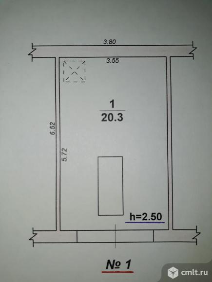 Капитальный гараж 20 кв. м Сокол