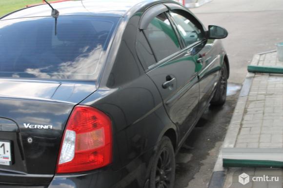 Hyundai Verna - 2007 г. в.. Фото 3.