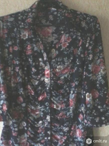 Блузка трикотажная. Фото 2.