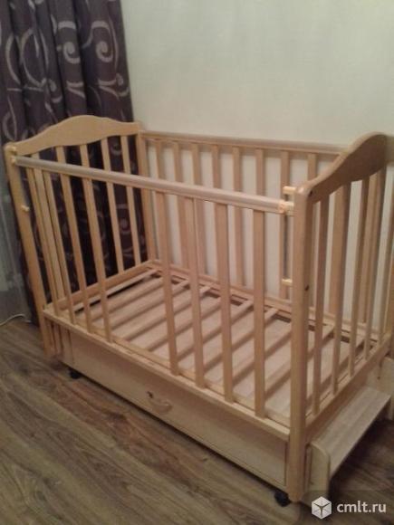 Кроватка детская 0-4года