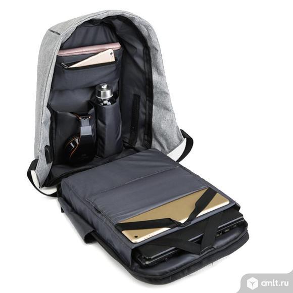 Рюкзак Bobby антивор с USB зарядкой новые. Фото 2.