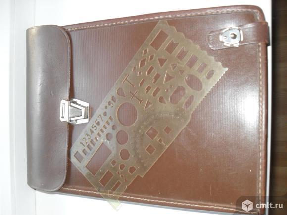 Сумка Планшет офицерский кожаный (коричневый)