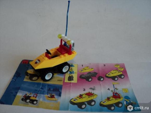 Амфибия из Лего Lego