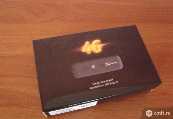 USB модем 4G Beeline ZTE MF 823 D. Фото 1.