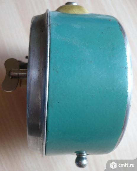 Часы, будильник, ГОСТ 3145-51 2, СССР, Made in USSR, на ходу.. Фото 6.