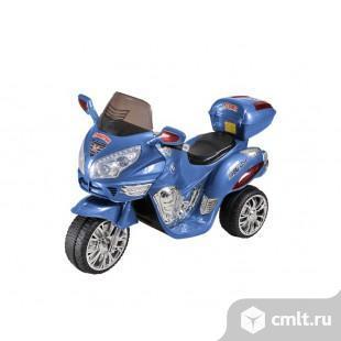 Продаю электромотоцикл HJ9888 синий. Фото 1.