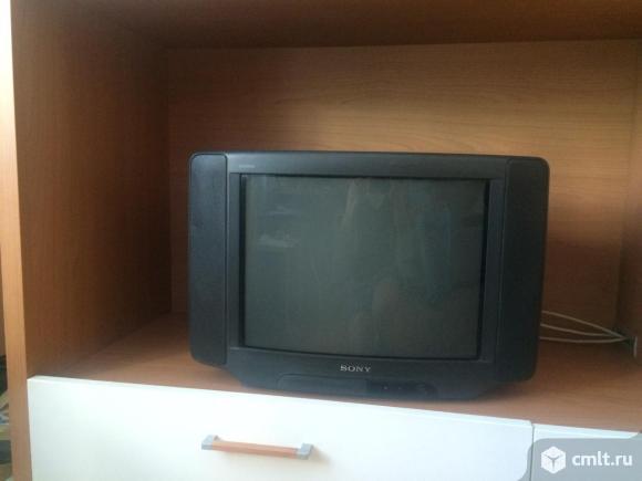 Телевизор кинескопный цв. Sony trinitron KV-21CAR