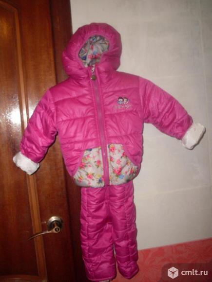 Комплект куртка+полукомбез. Фото 1.