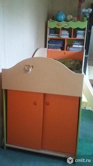 Кровать комбинированная со столом. Фото 1.