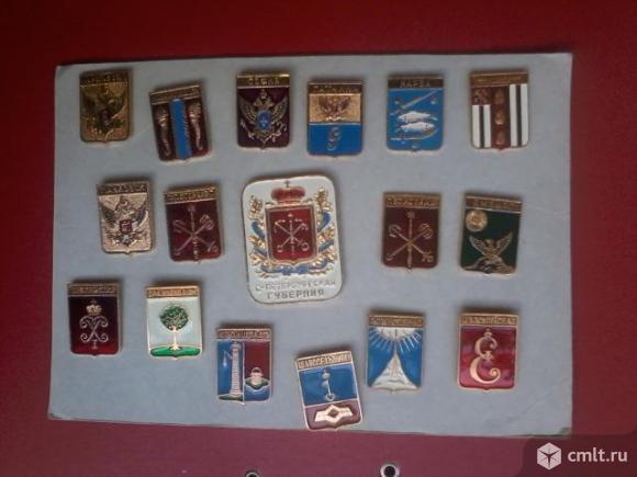 3 новых набора значков СССР. Фото 4.