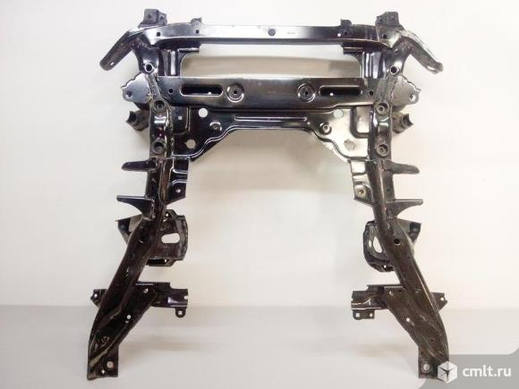 Балка подмоторного отсека подрамник BMW X5 F15 13- б/у 31116866689 4*. Фото 1.