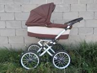 детская универсальная коляска 2 в 1 (люлька сбоку)