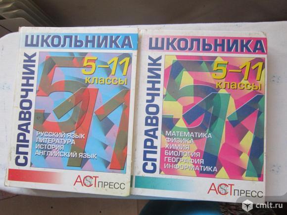 Энциклопедия школьника 5 - 11 класс в 2 х томах. Фото 1.
