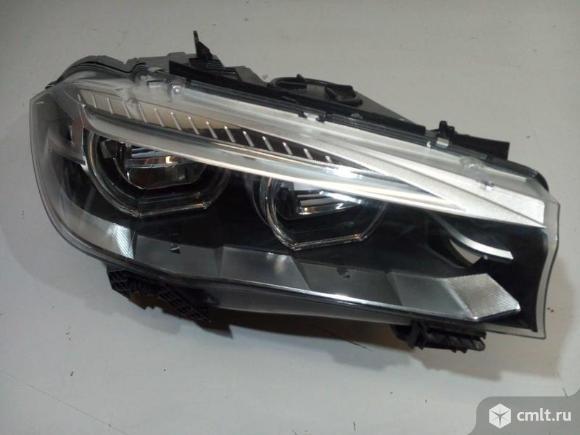 Фара правая LED BMW X5 F15 13- б/у 63117442648 4*. Фото 1.