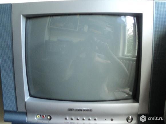"""Телевизор кинескопный цв. Hitachi 37 см HITACHI 14"""". Фото 1."""