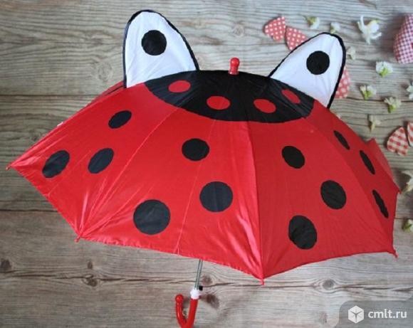детский зонтик с ушками. Фото 3.