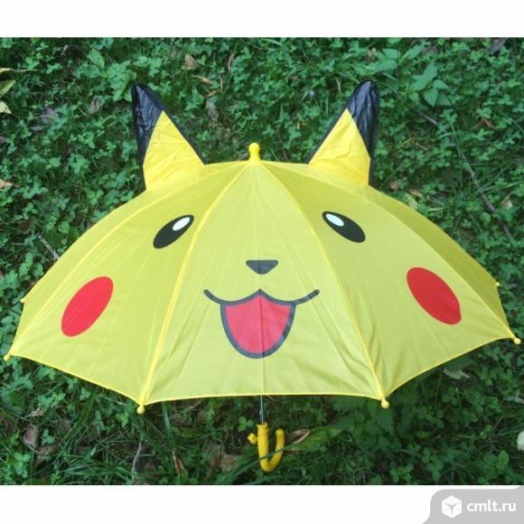 детский зонтик с ушками. Фото 1.
