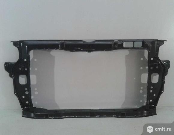 Панель передняя телевизор HYUNDAI SOLARIS 17- б/у 64101H5000 3*. Фото 1.