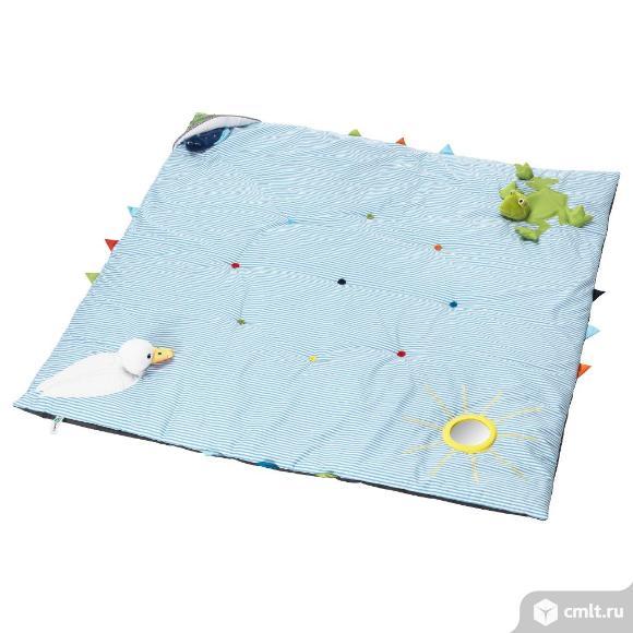 детский коврик лека, синий (118?118 см)