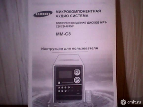 Аудиосистема Samsung ММ-С8. Фото 3.