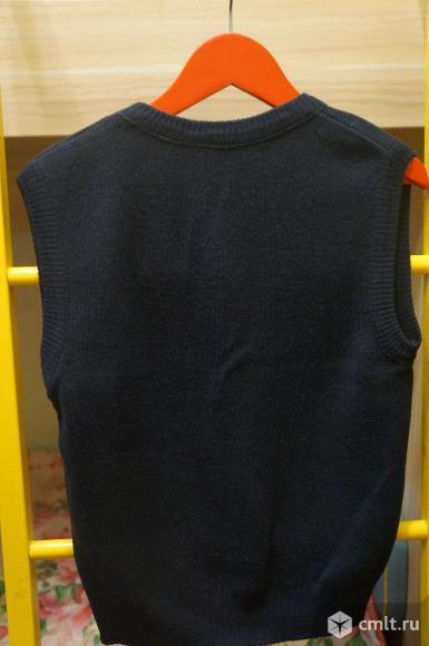 Школьная жилетка для мальчика. Фото 2.
