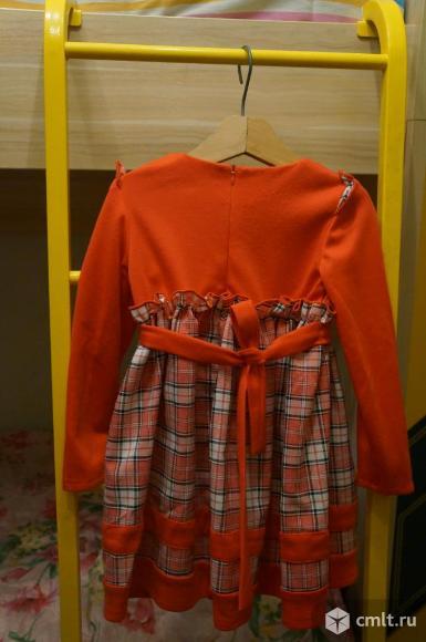 Нарядное платье для девочки 5-6 лет. Фото 2.