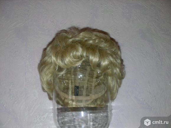 Новый парик из натуральных волос