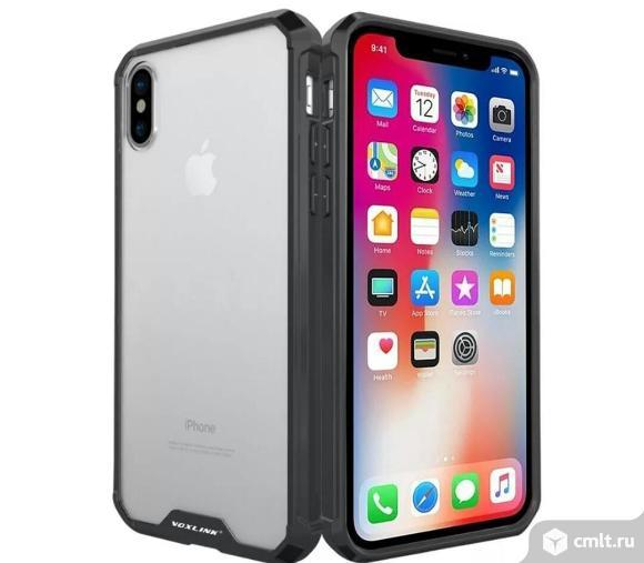 Чехол новый в упаковке Voxlink для Iphone X. Фото 1.