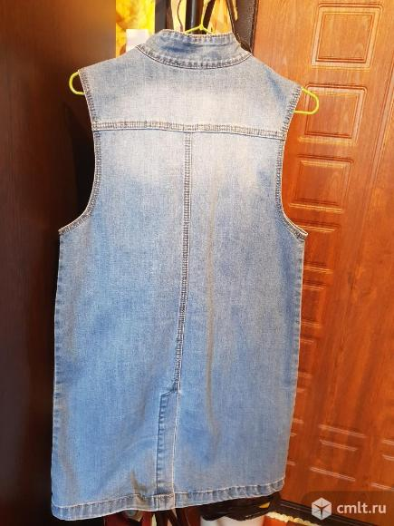 Продам новый джинсовый сарафан! Торг!. Фото 2.