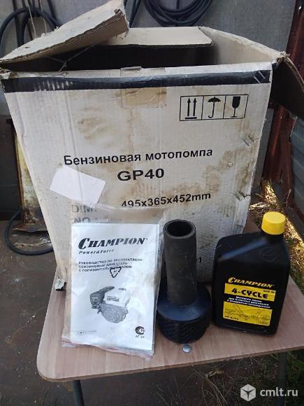 Продам мотопомпу  Чемпион  GP40. Фото 5.