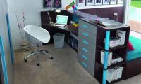 Мебель для домашнего рабочего места. Отлично подойдет как для подростка, так и для взрослого. Ящики с системой плавного закрывания. Кровать с накопителями. Кресло - со скидкой производителя.