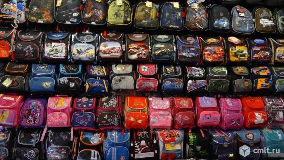 Рюкзаки школьные в ассортименте. Фото 6.