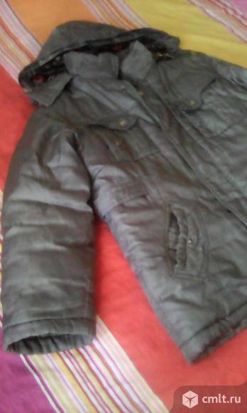 Куртки на мальчика -зимние с  комбез.. Фото 1.