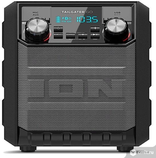 Новый, гарантия год портативный музыкальный центр Ion Tailgater Go черный. Фото 1.