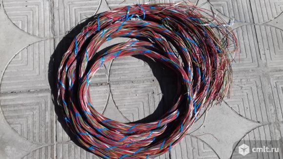 Медный провод длина 8 метров. Фото 1.
