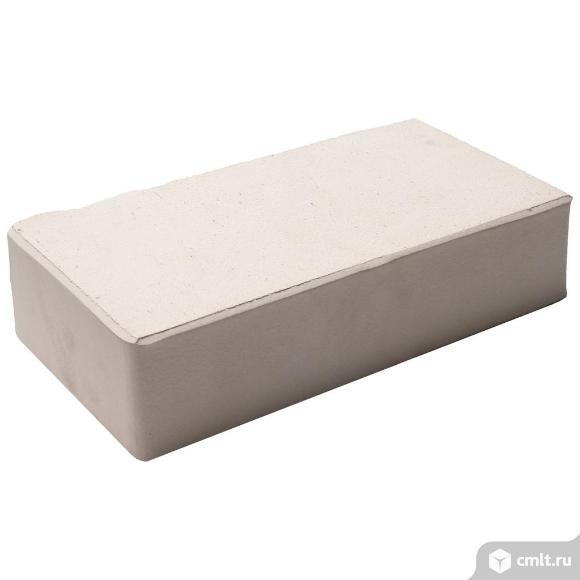 Кирпич печной керамический Старооскольский, белый, гладкий, 1.0НФ, М200, (330шт/ упаковка). Фото 1.