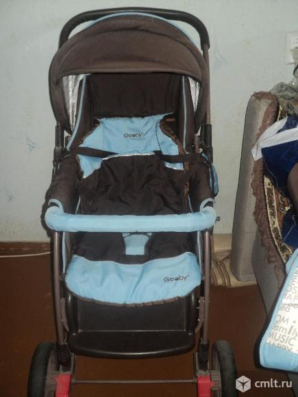 Продаю детскую коляску 2в1 Geoby. Фото 1.