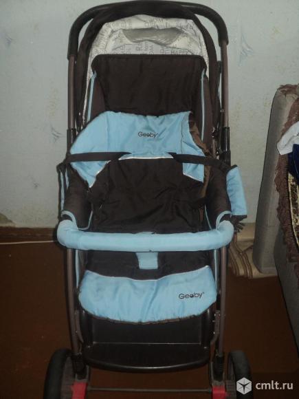 Продаю детскую коляску 2в1 Geoby. Фото 3.
