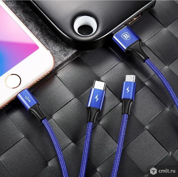 Кабель зарядный для Android и Apple (iPhone, iPad). Фото 5.