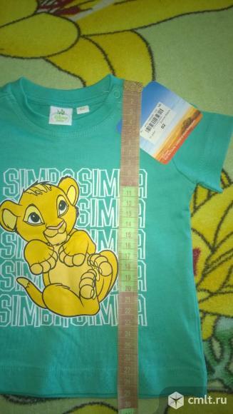 Продам новую футболку Дисней Король лев. Фото 1.