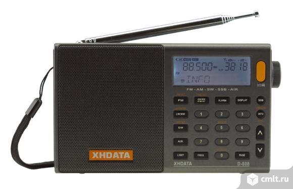 Радиоприемник xhdata d-808. Фото 1.