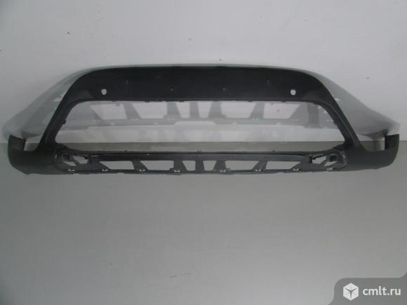 Бампер передний нижняя часть под паркт.  BMW X1 F48 15-  б/у 51117354816 4*. Фото 1.