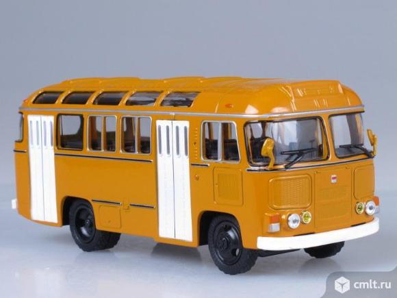 Модель автобуса паз 672 м.Специальный выпуск №1. Фото 1.