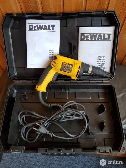 Шуруповерт DeWalt DW 274 (новый в упаковке)
