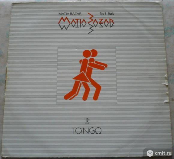 "Грампластинка (винил). Гигант [12"" LP]. Matia Bazar. Tango. 1983 WEA Musik GmbH. 24-0134-1. Germany.. Фото 1."