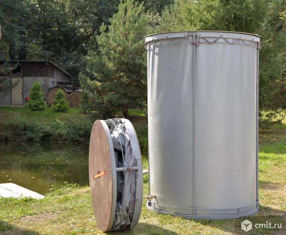 Резервуар разборный, вертикальный РРВ-2,15.. Фото 1.