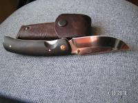 """нож складной """"Аляска"""" ручной работы с чехлом"""
