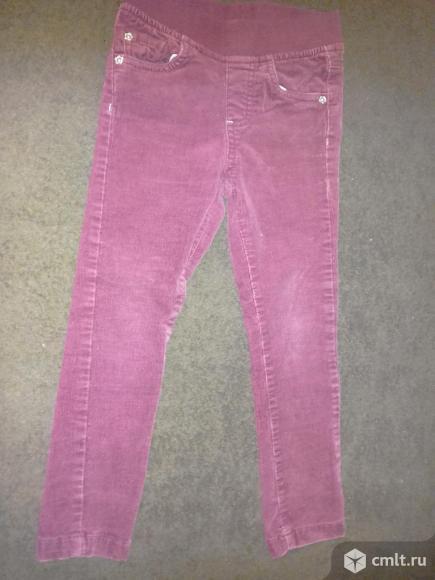 Вельветовые классные джинсы. Фото 1.