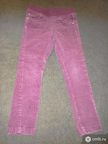 Вельветовые классные джинсы. Фото 2.